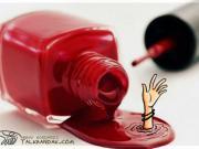 کاریکاتور/فاجعه در مصرف لوازم آرایشی