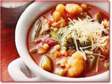 ک سوپ ایتالیایی خوشمزه